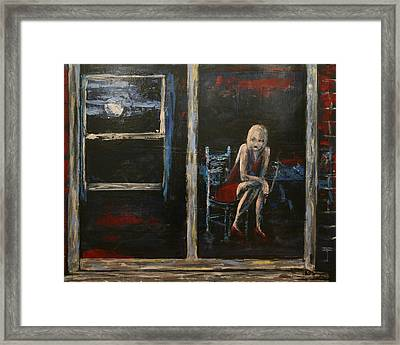 Solitary Framed Print by Kathy Peltomaa Lewis