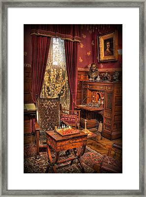 Solitary Stalemate  Framed Print by Lee Dos Santos