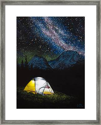 Solitude Framed Print by Aaron Spong