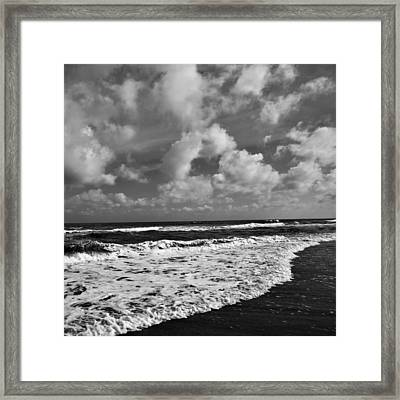 Solitude At St. George Framed Print by Toni Hopper