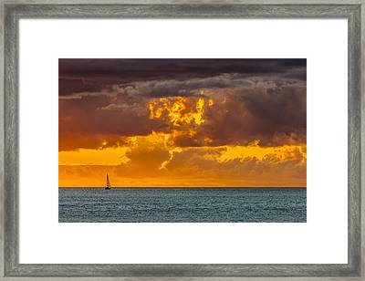 Solitude Framed Print by Chris Austin