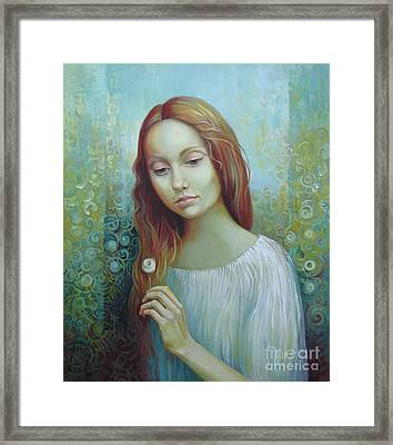 Solitude Framed Print by Elena Oleniuc