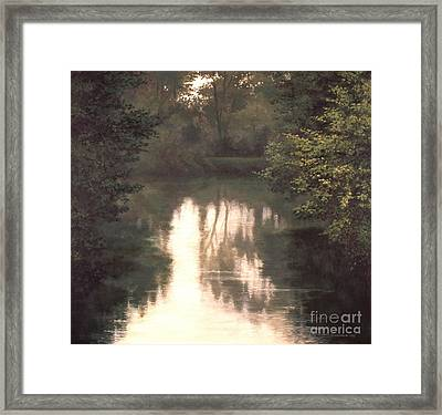 Solitude Framed Print by Michael Swanson