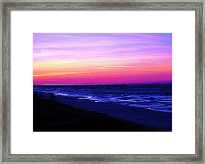 Solitude Framed Print by Russell Jenkins