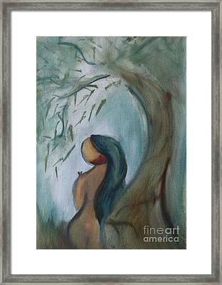 Solitude Framed Print by Teresa Hutto