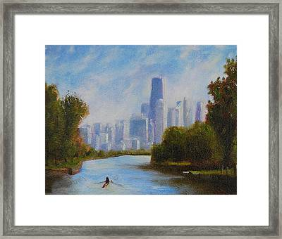 Solitude Framed Print by Will Germino