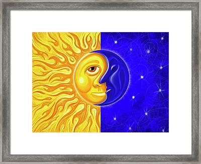 Solstice Greeting Framed Print by David Kyte
