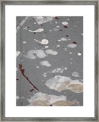 Solum 8 Framed Print by Ingrid Van Amsterdam