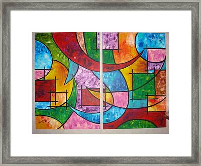 Solution To Sanity Framed Print by Catherine Nichols