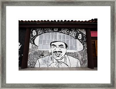Sombrero Framed Print by Peter Tellone