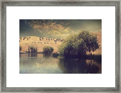 Some Dreams Never Die Framed Print by Laurie Search