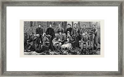 Some Of The Worst Cases From Tel-el-kebir Framed Print by Egyptian School
