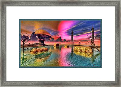Some Other Earth Framed Print by Tyler Robbins