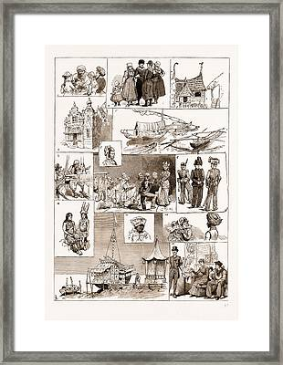 Some Stray Notes At The Amsterdam Exhibition Framed Print by Litz Collection