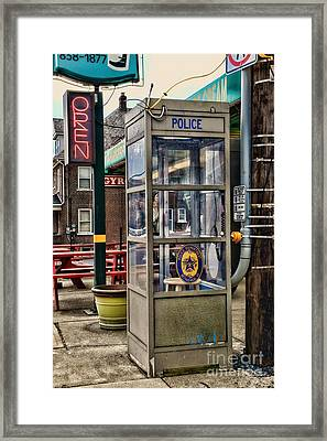 Someone Call The Police Framed Print by Paul Ward