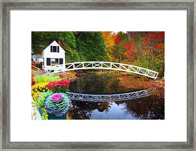 Somersville Bridge Framed Print by Emmanuel Panagiotakis