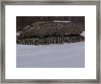 John Hinker's Coal Dock. Framed Print by Jonathon Hansen