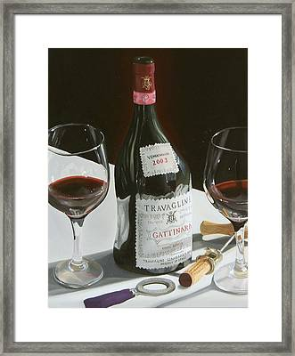 Something Special Framed Print by Brien Cole