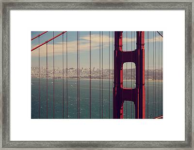 Something To Hold On To Framed Print by Laurie Search