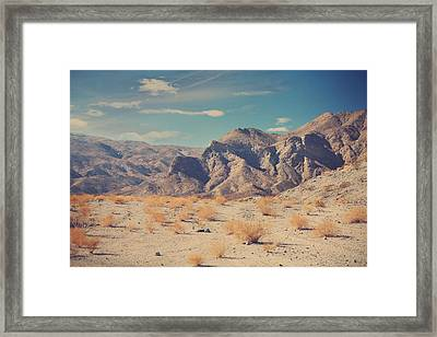 Sometimes All You Can Do Is Breathe Framed Print by Laurie Search