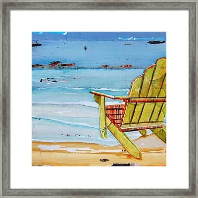 Sometimes It's Good To Be Shallow Framed Print by Danny Phillips