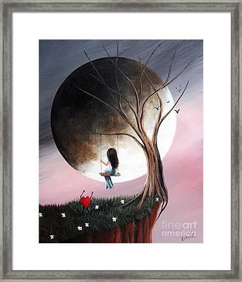 Sometimes She Just Wants To Be Alone By Shawna Erback Framed Print by Shawna Erback