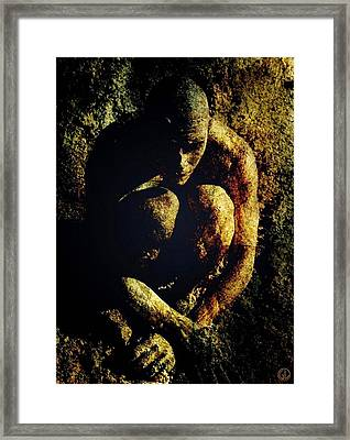 Sometimes You Have To Go Down In The Mud Framed Print by Gun Legler