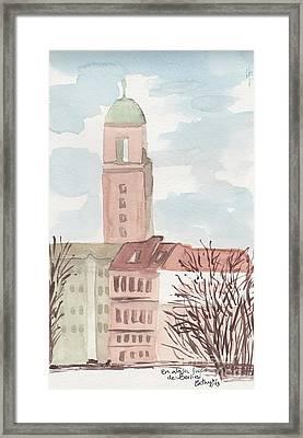 Somewhere In Berlin Framed Print by Catalina Velasquez