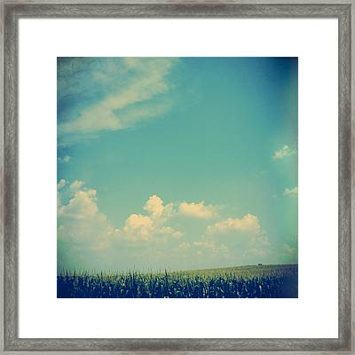 Somewhere Off In The Distance Framed Print by Joy StClaire