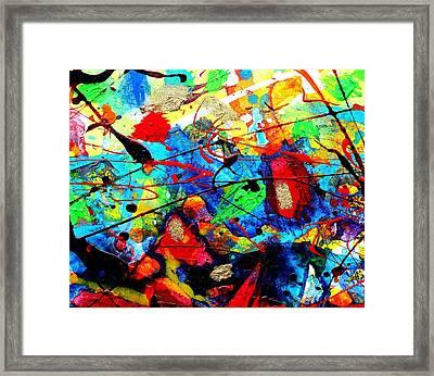 Somewhere Over The Rainbow Framed Print by John  Nolan