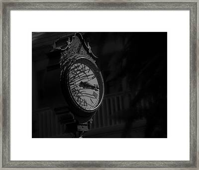 Somewhere Someone Is Thinking Of You Framed Print by Mario Celzner