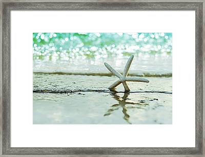 Somewhere You Feel Free Framed Print by Laura Fasulo