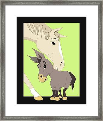 Son Of A Jackass Framed Print by Tammy Long