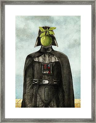 Son Of Darkness Framed Print by Eric Fan