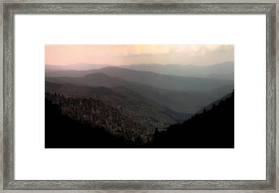 Song Of Serenity Framed Print by Karen Wiles