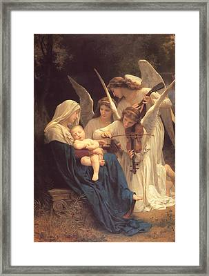 Song Of The Angels Framed Print by Mountain Dreams
