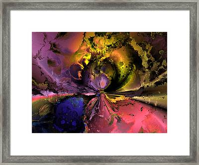 Song Of The Cosmos Framed Print by Claude McCoy