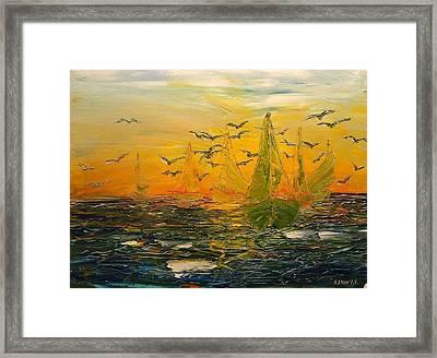 Song Of The Wind Framed Print by Svetla Dimitrova