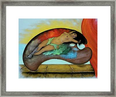 Songe D'une Nuit Framed Print by Guillaume Bruno