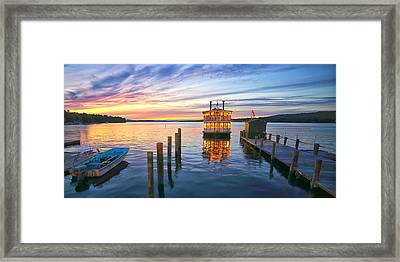 Songo River Queen Framed Print by Darylann Leonard Photography