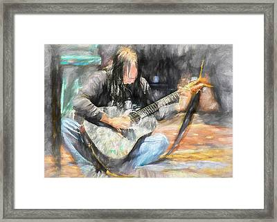 Songs From The Street Framed Print by Bob Orsillo