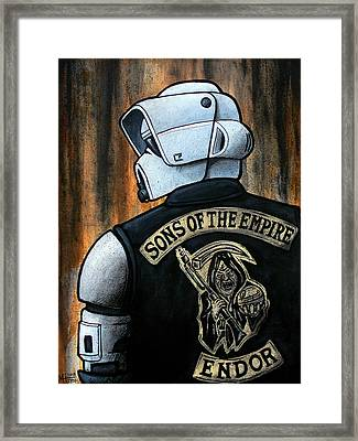 Sons Of The Empire Framed Print by Marlon Huynh