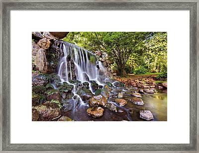 Sonsbeek Waterfall / Arnhem Framed Print by Barry O Carroll