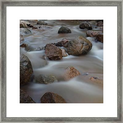 Soothing Waters 2 Framed Print by Ernie Echols