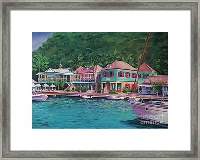 Soper's Hole Tortola  16x23 Framed Print by John Clark