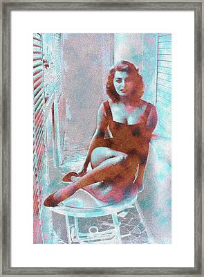 Sophia Loren Framed Print by Twan Urselmann