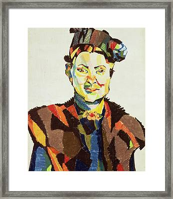 Sophie Framed Print by Henri Gaudier-Brzeska