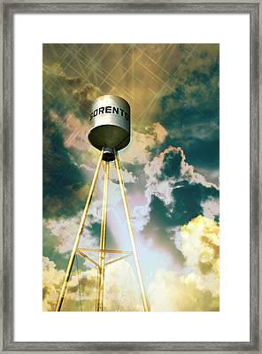 Sorento Illinois Tower Framed Print by Marty Koch