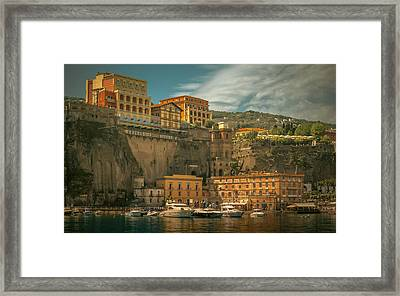 Sorrento Framed Print by Chris Fletcher