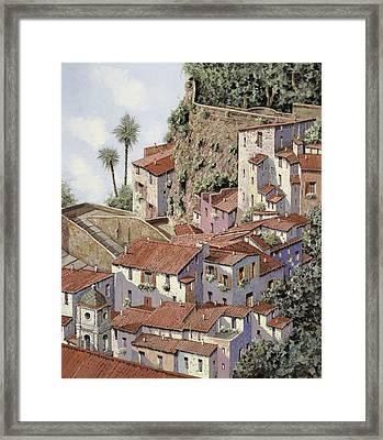 Sorrento Framed Print by Guido Borelli